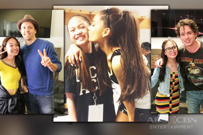 Fangirl dreams! 16 Photos of AC Bonifacio meeting some of her international idols