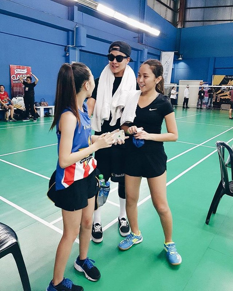 LOOK: 11 photos of AC Bonifacio's fangirl moments over KathNiel!