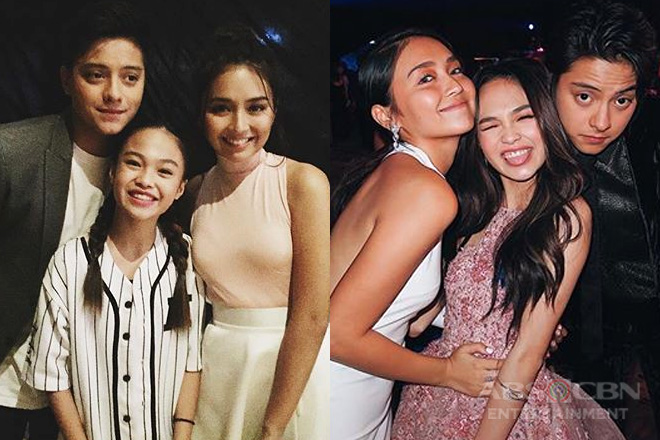 LOOK: 11 photos of AC Bonifacio's fangirl moments over KathNiel!