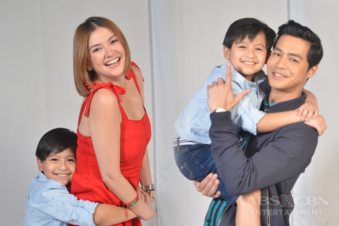 "IN PHOTOS: Playhouse ""Finally Home"" photo shoot with Angelica, Zanjoe and Jj"