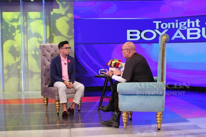 PHOTOS: Teddy Corpuz on Tonight With Boy Abunda